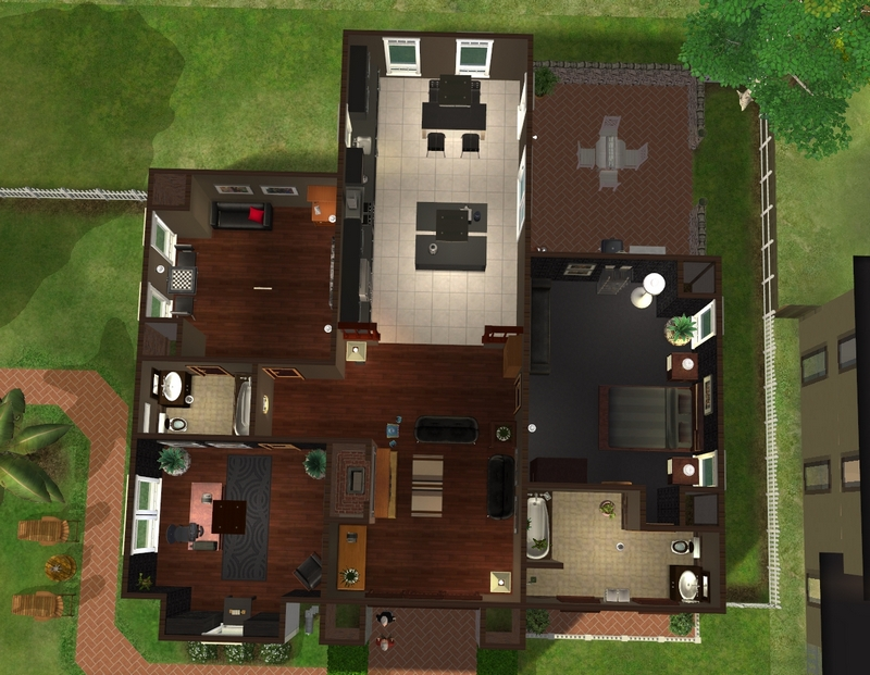 Anna S Colours Kitchen Sims